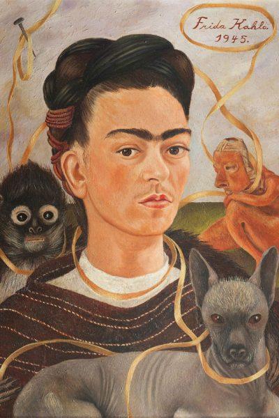affiche exposition frida kahlo