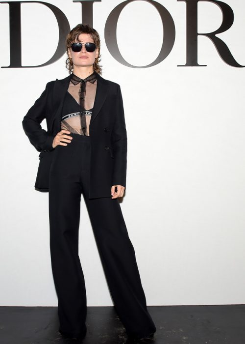 christine and the queens lunettes dior thelios